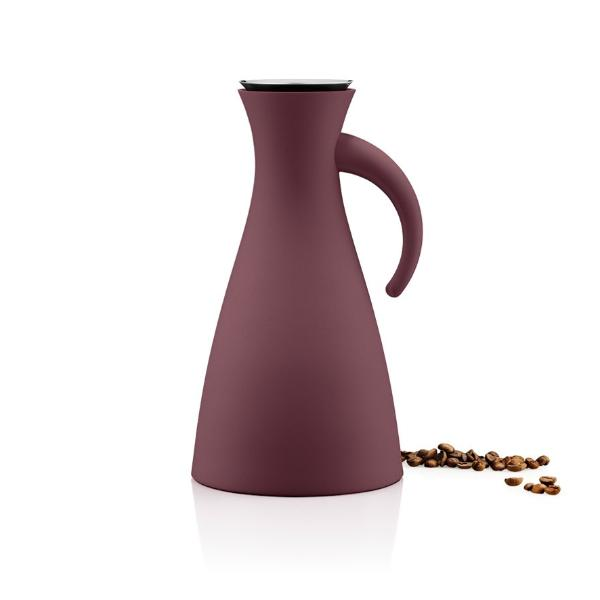 Eva Solo Termokanne 1,0l Dark burgundy - Tablo.no