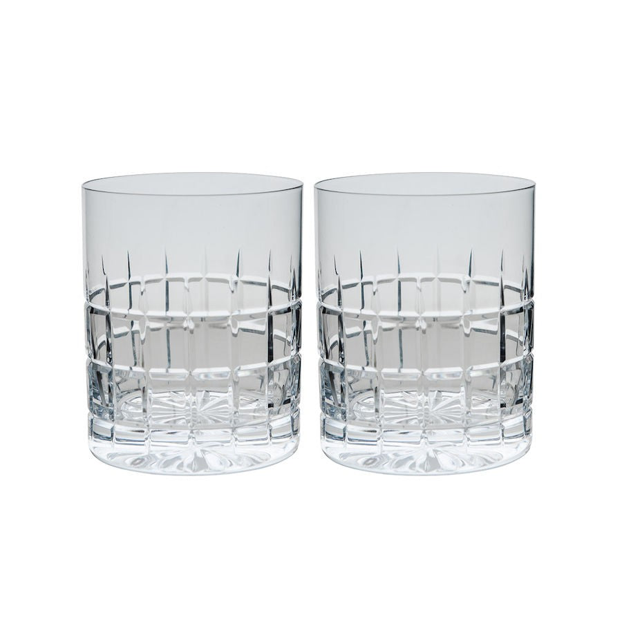 Hadeland Kube Whiskyglass 35 cl 2 pk - Tablo.no