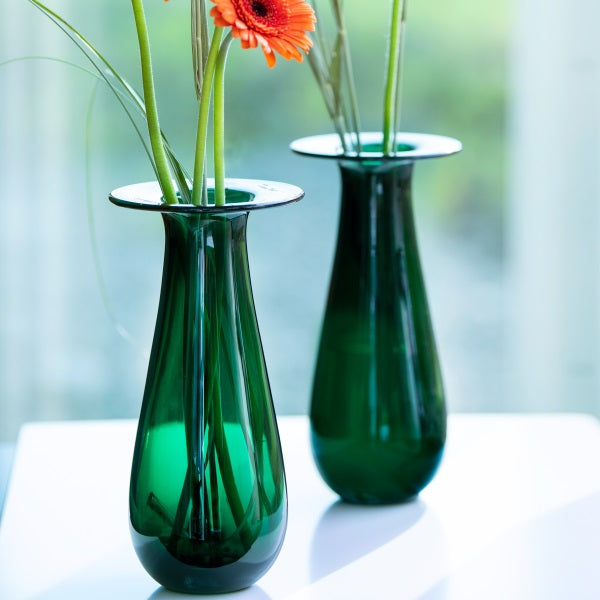 Magnor Dråpen vase Green 250 mm