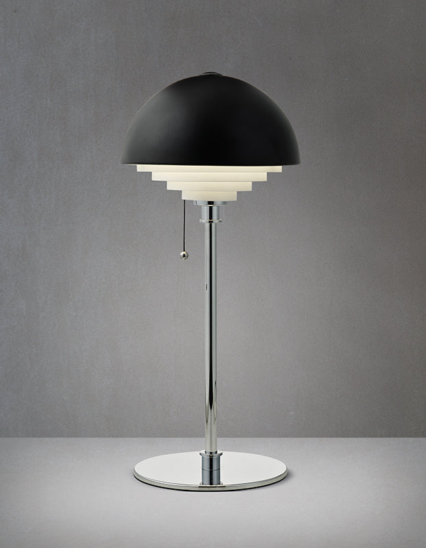 Herstal Motown bordlampe - sort