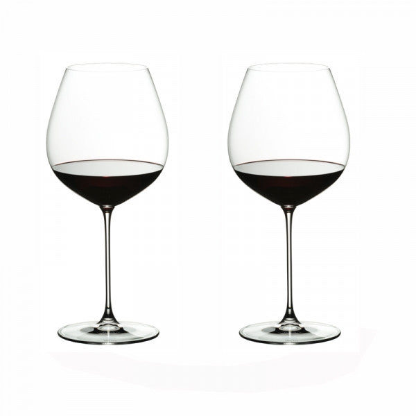 RIEDEL VERITAS OLD WORLD PINOT NOIR VINGLASS 2-PK - Tablo.no