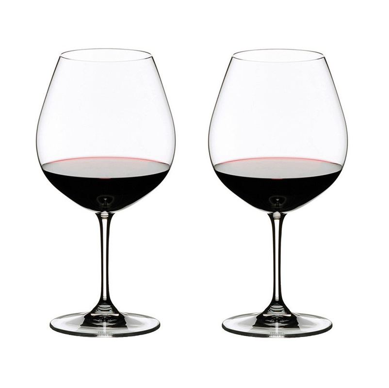 RIEDEL VINUM PINOT NOIR (BURGUNDY RED) 2PK - Tablo.no