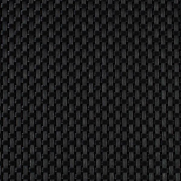 CHILEWICH BASKETWEAVE Spisebrikke 36 x 48 cm BLACK - Tablo.no
