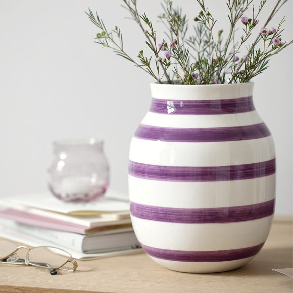 KÄHLER OMAGGIO VASE PLUM MEDIUM - Tablo.no