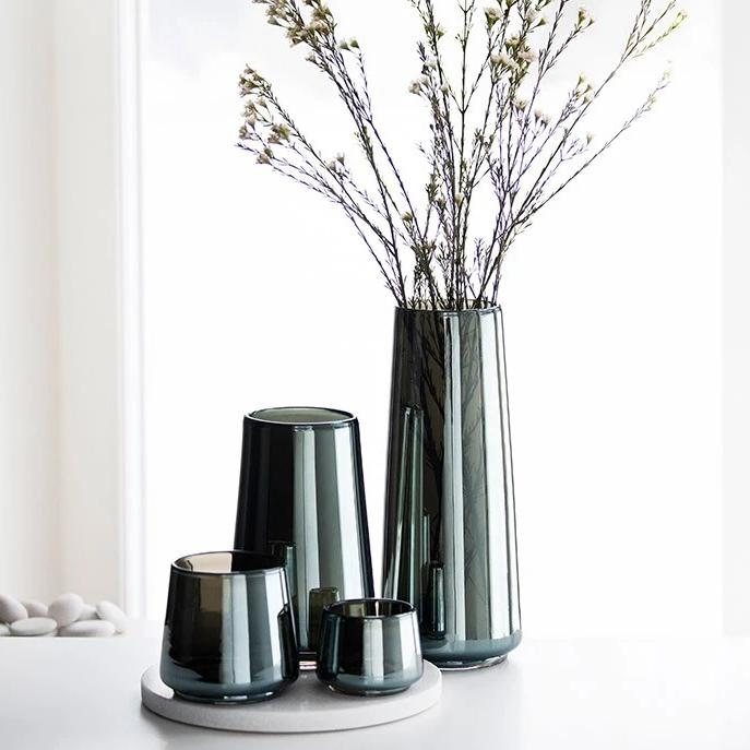 Magnor Shine vase lav 200 mm
