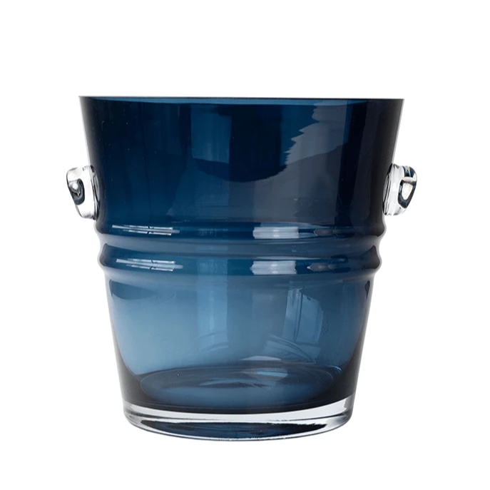 Magnor The Bucket isbøtte/vase Royal Blue 240 mm