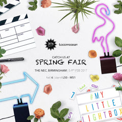 We're at Spring Fair!