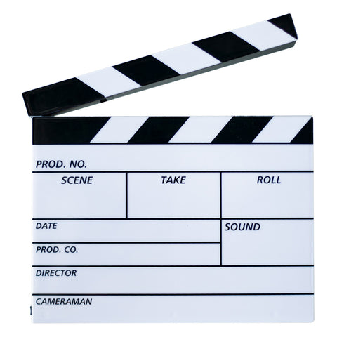 Film Clapper Board Lightbox