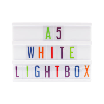 A5 White Lightbox - Locomocean Ltd