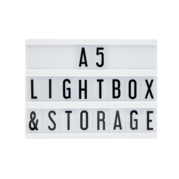 A5 Black Lightbox - Locomocean