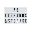 A5 Black Lightbox