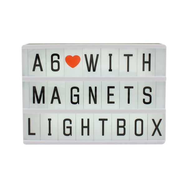 A6 Magnetic Lightbox