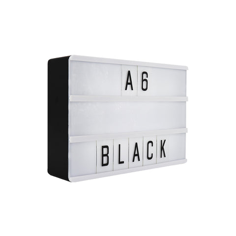 A6 Magnetic Lightbox - Black