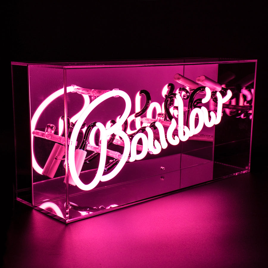 'Boudoir' Acrylic Box Neon Light - Locomocean Ltd