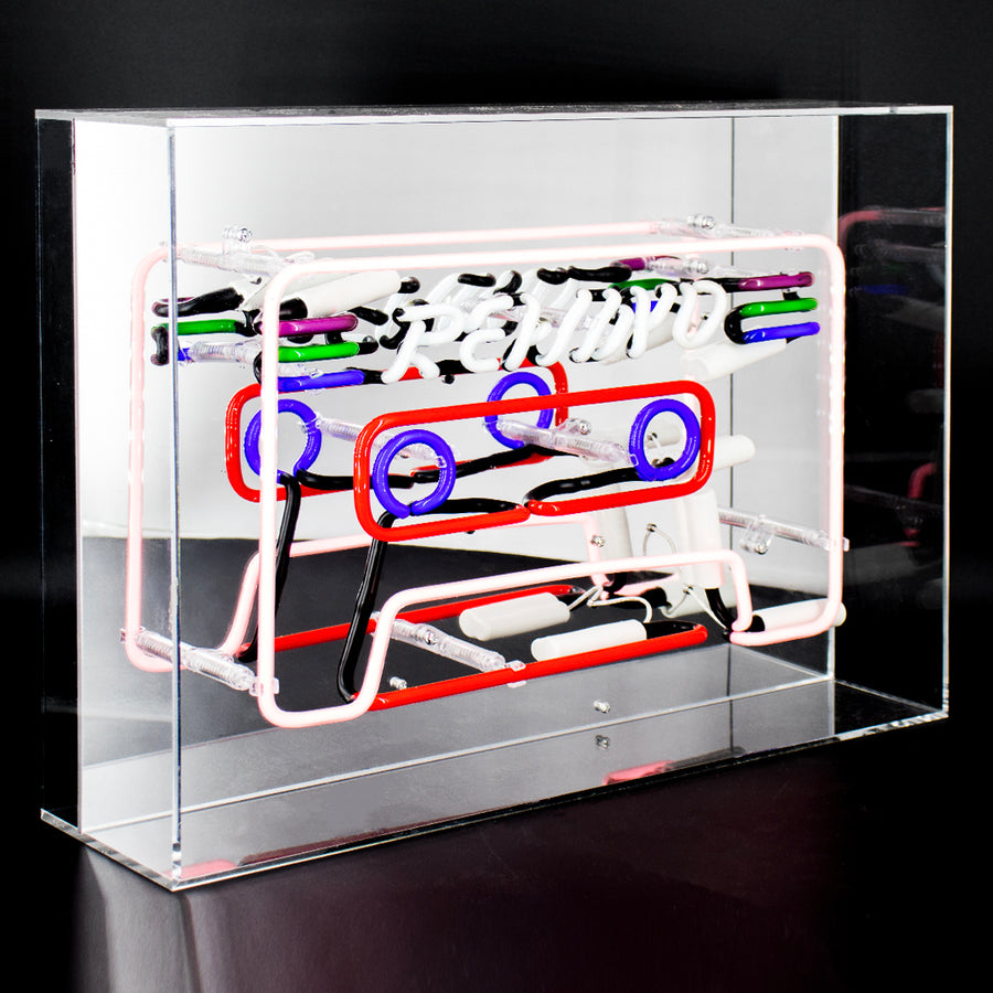 'Cassette' Acrylic Box Neon Light - Locomocean Ltd
