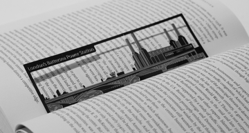 Battersea Power Station - Stainless Steel Bookmark - Locomocean