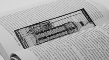 Big Ben - Stainless Steel Bookmark - Locomocean