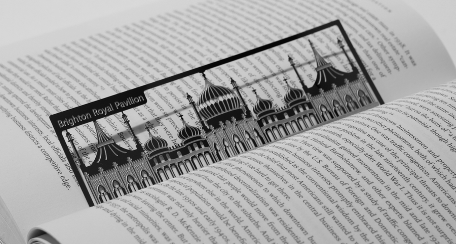 Brighton Pavillion - Stainless Steel Bookmark - Locomocean