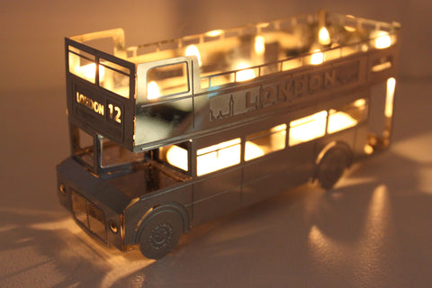 London Bus Tea Light Holder