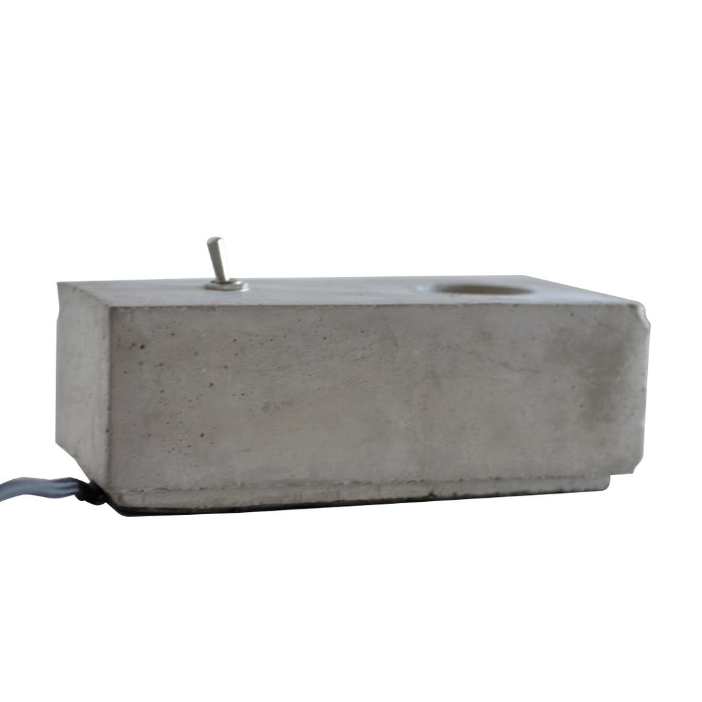 Concrete Block Light