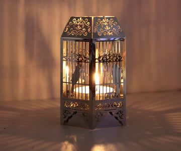 Birdcage Tea Light Holder - Locomocean