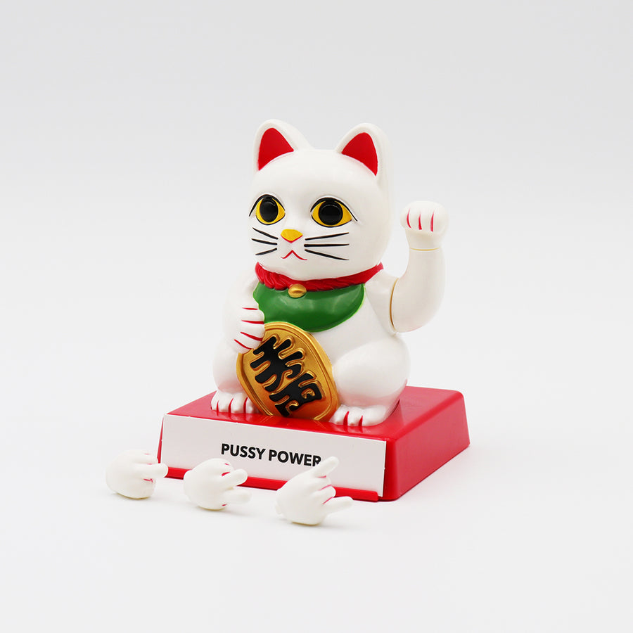 Cattitude - Lucky Cat with Interchangeable Hands - Locomocean