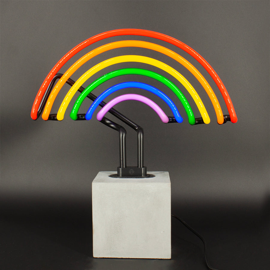 Neon (Concrete Base) - Rainbow - Locomocean