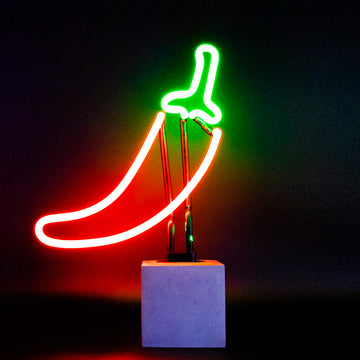 Neon Chilli Sign - Locomocean