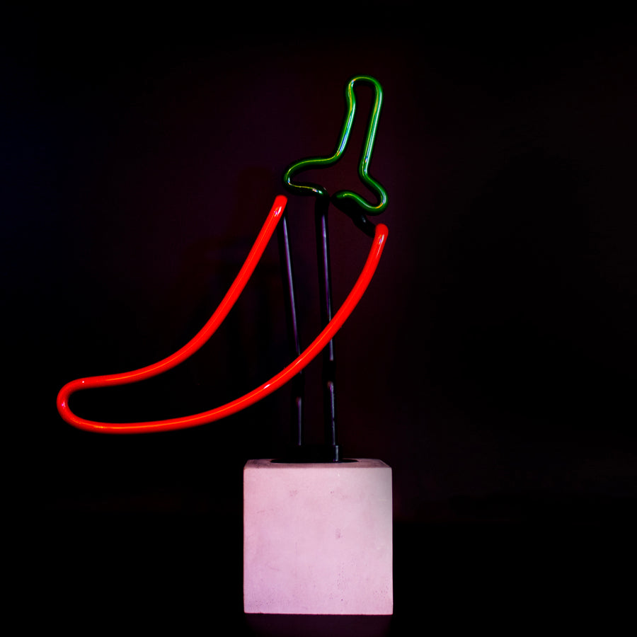Neon 'Chilli Sign' - Locomocean