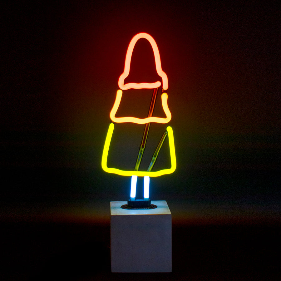 Neon 'Rocket Lolly' Sign - Locomocean