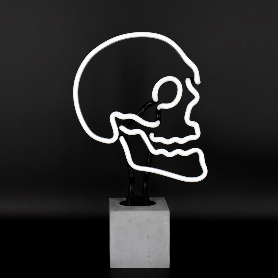 Neon Skull Sign - Locomocean