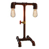 Double Arm Pipe Light