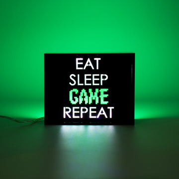 'Game Repeat' Mini Acrylic Box LED - Locomocean