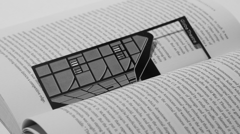 Globe Theatre - Stainless Steel Bookmark