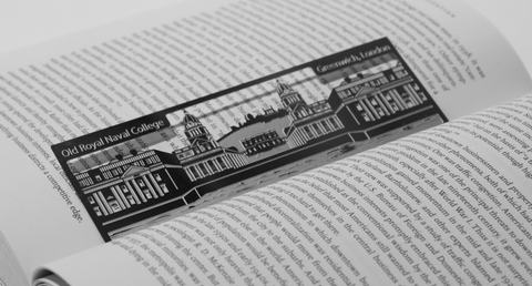 Old Royal Naval College - Stainless Steel Bookmark