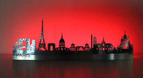 Light-up Paris Skyline