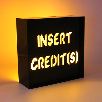 Acrylic Box LED Money Box - Insert Credits - Locomocean