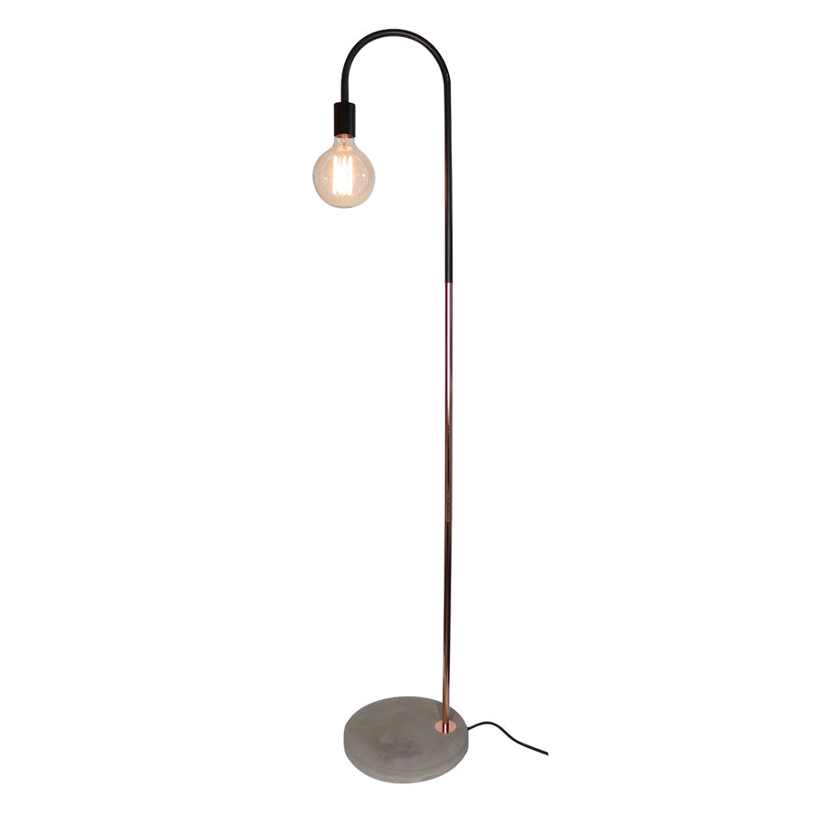 Kotka Floor Lamp with concrete Base - Locomocean