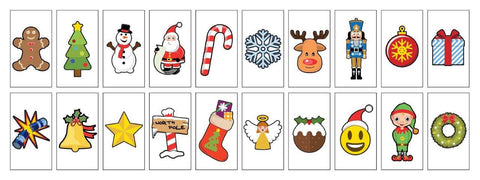 Christmas Letter Pack For A4 lightbox