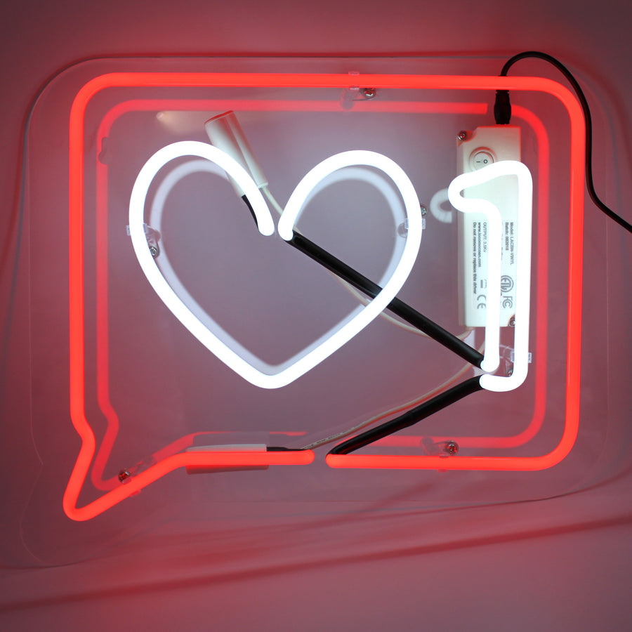 *NEW* Neon Light 'Like' - Wall Sign - Locomocean