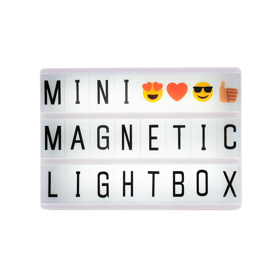 A6 Magnetic Lightbox - Rose Gold - Locomocean Ltd