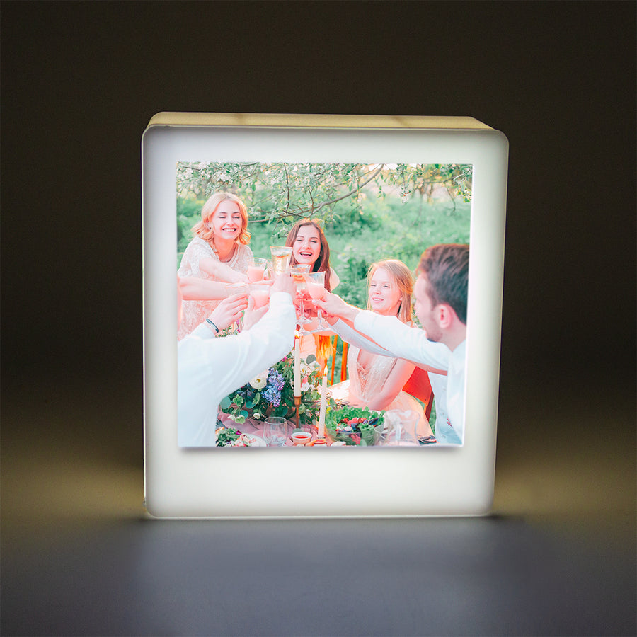 Mini Photo Light Box - White