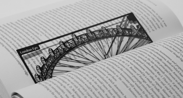 London Eye - Stainless Steel Bookmark - Locomocean