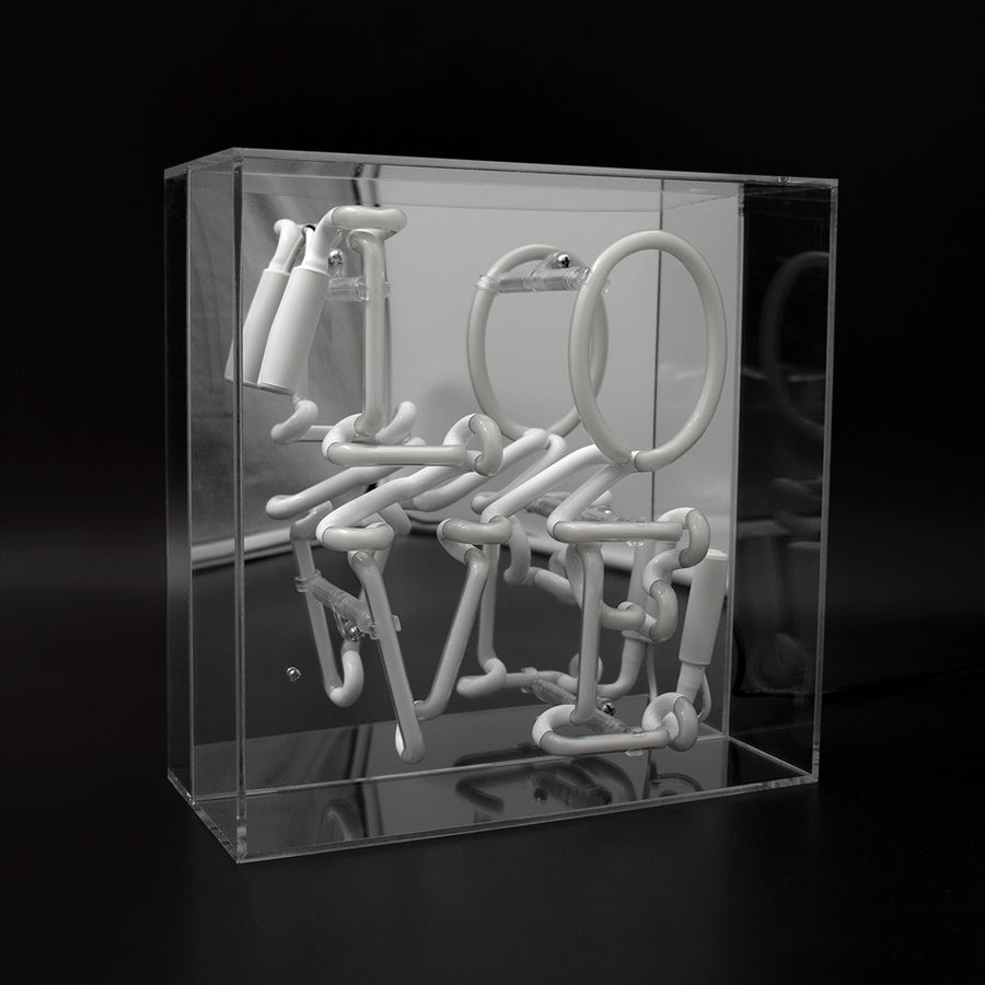 'Love' Acrylic Box Neon Light - Locomocean