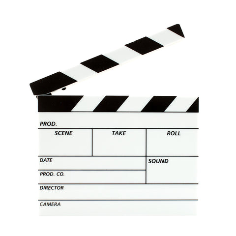 Mini Film Clapper Board Lightbox