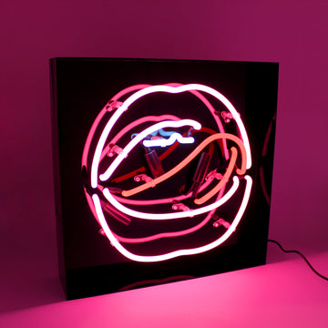 *NEW* Acrylic Box Neon Light - Mouth - Locomocean