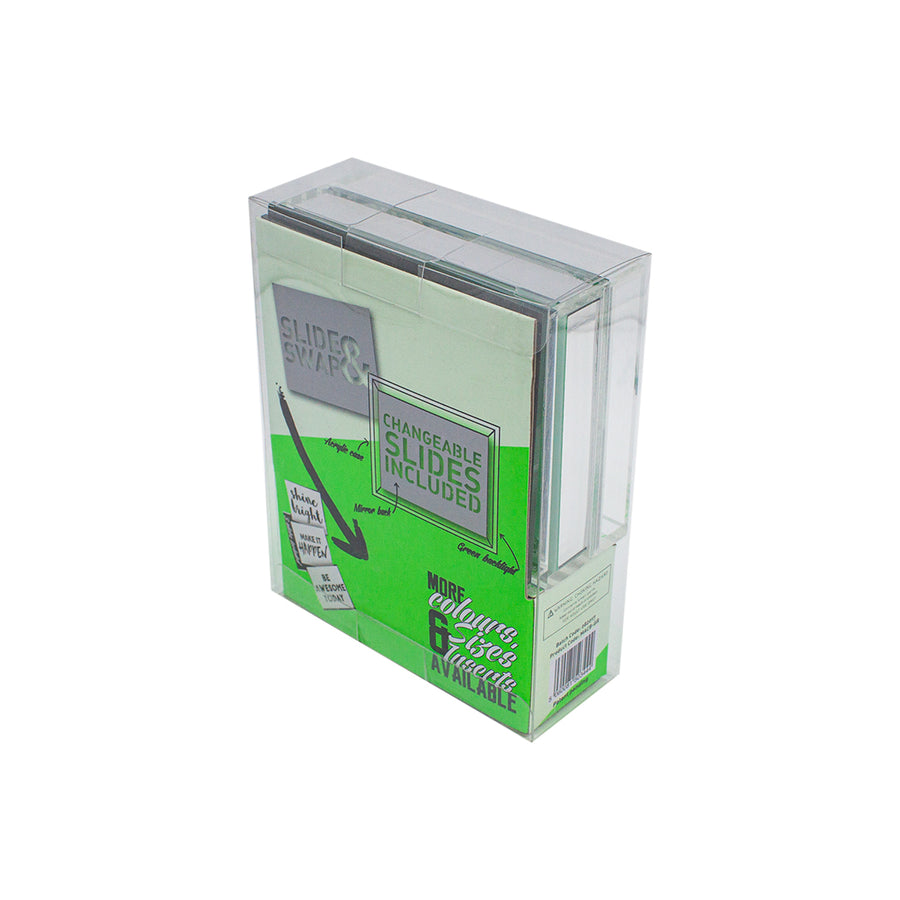 Green - Mini Acrylic Box LED - Locomocean