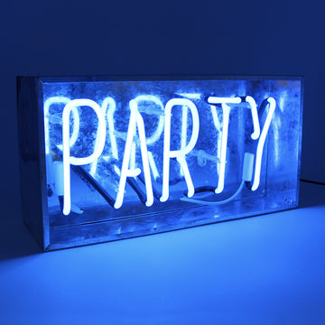 'Party' Metal Box Neon - Locomocean