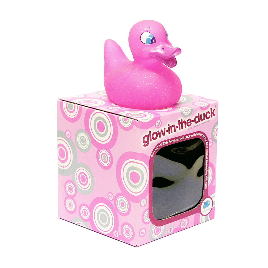 Pink Duckie - 'Glow In The Duck' - Locomocean