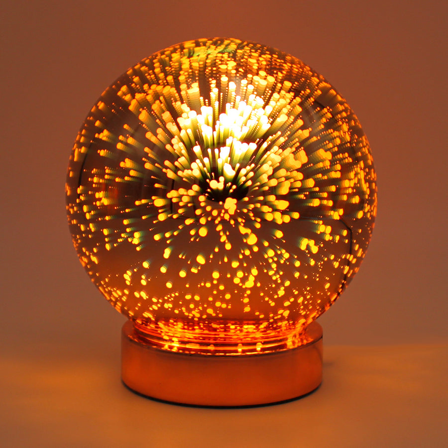 Rose Gold Galaxy Light (Battery Powered) - Locomocean Ltd